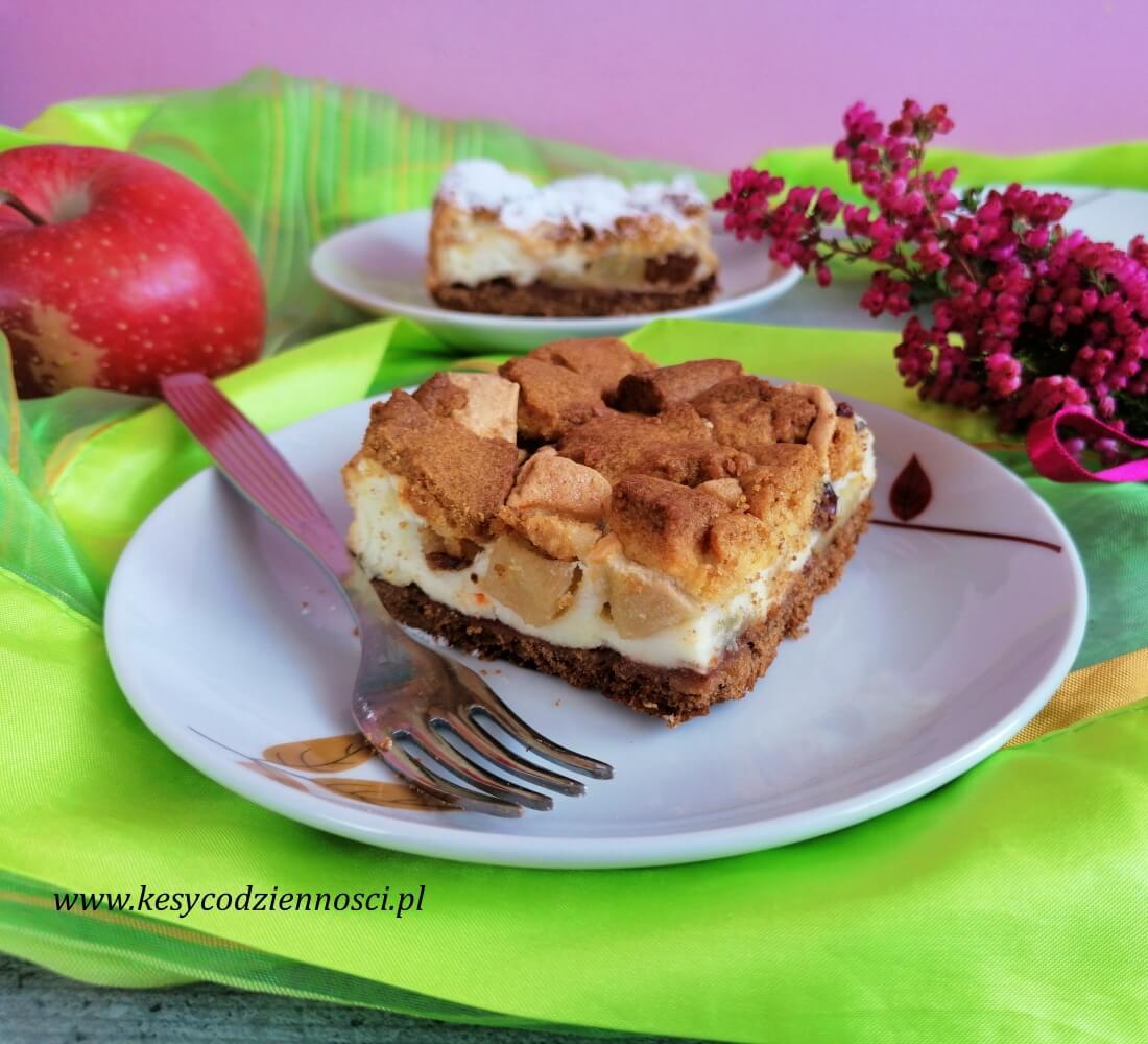 ciasto z jabłkami i gruszkami